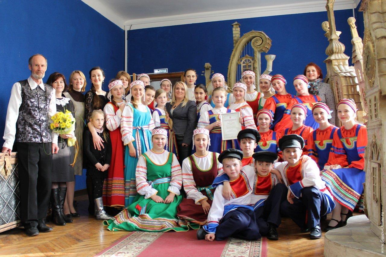 На фестивале «Музыкальная весна» Гусевская ДШИ получила из областного бюджета 100 тысяч рублей на приобретение музыкальных инструментов