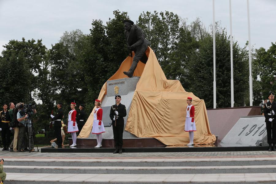В Гусеве увековечили подвиг русских солдат, павших в Первую мировую войну